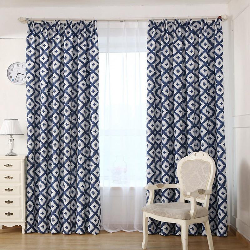 Decorative room Modern geometric curtain for living room bedroom ...