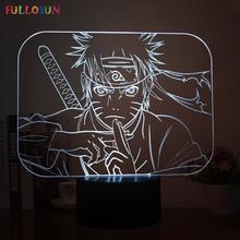 Naruto 5v USB 3D Lamp LED Table Lamp