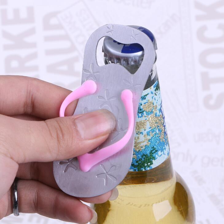 Ev ve Bahçe'ten Parti Armağanları'de Ücretsiz Kargo 50 adet/grup Şişe Konserve Açacağı Flip flop Şekil Alaşımlı Takım Düğün Parti Doğum Günü Bebek Duş Iyilik Hediye hediyelik eşya'da  Grup 1