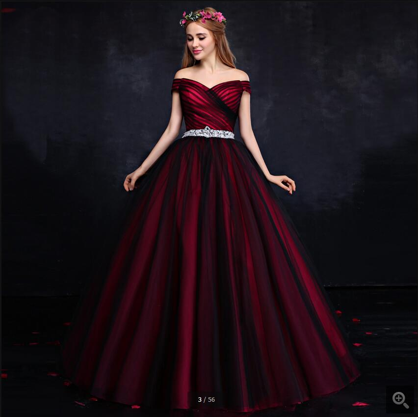 Latest style of prom dresses
