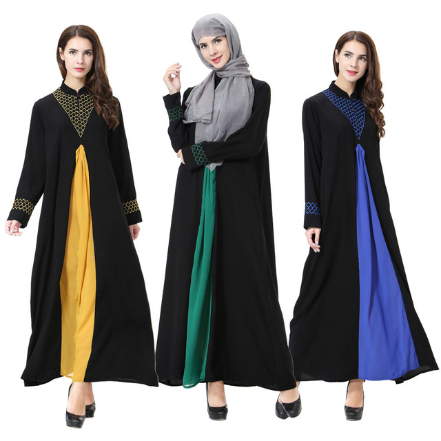 df4714a5c New Islamic Muslim Long Skirt Women Arab Skirt Retro Muslim Women's  Clothing Dubai Ladies Malaysia Clothing