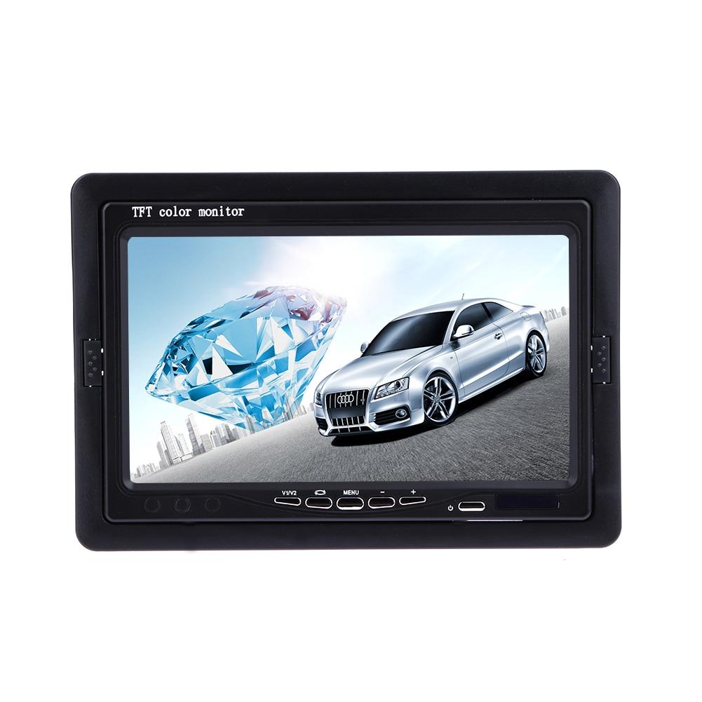 7 Pouce Moniteur Écran 800*480 Voiture LCD Displayer Moniteurs De Voiture 16:9 Écran Pour Framboise VCD/DVD/GPS/Caméra