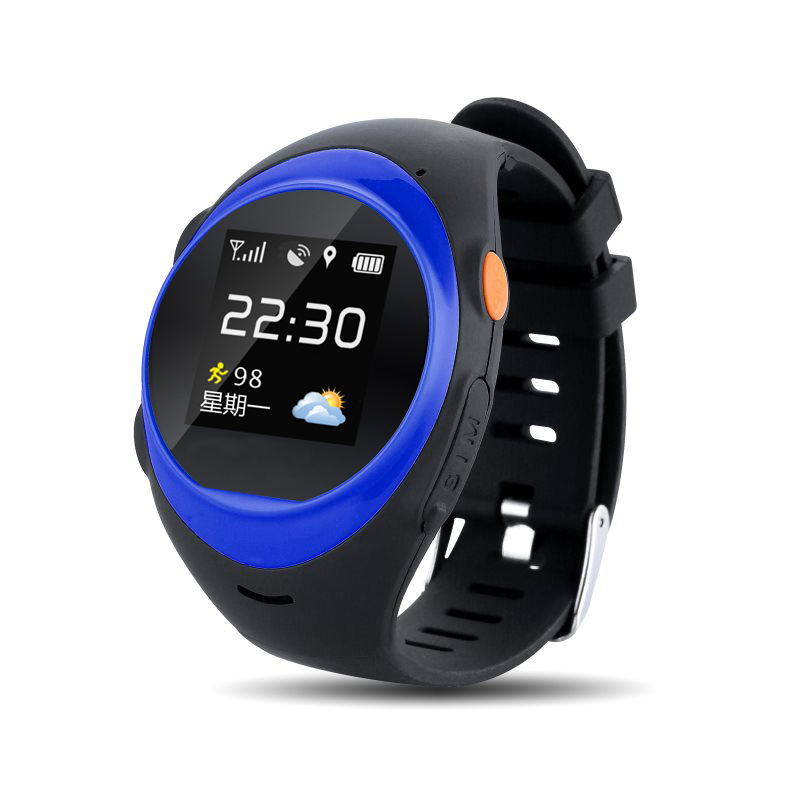1.2 «Android IOS смарт часы-телефон S888A Bluetooth sim gsm WI-FI LBS + SOS + GPS в режиме реального времени позиционирование трекер для старик и женщина