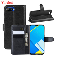 For OPPO Realme C2 Case High Quality Flip Leather Phone Case For OPPO