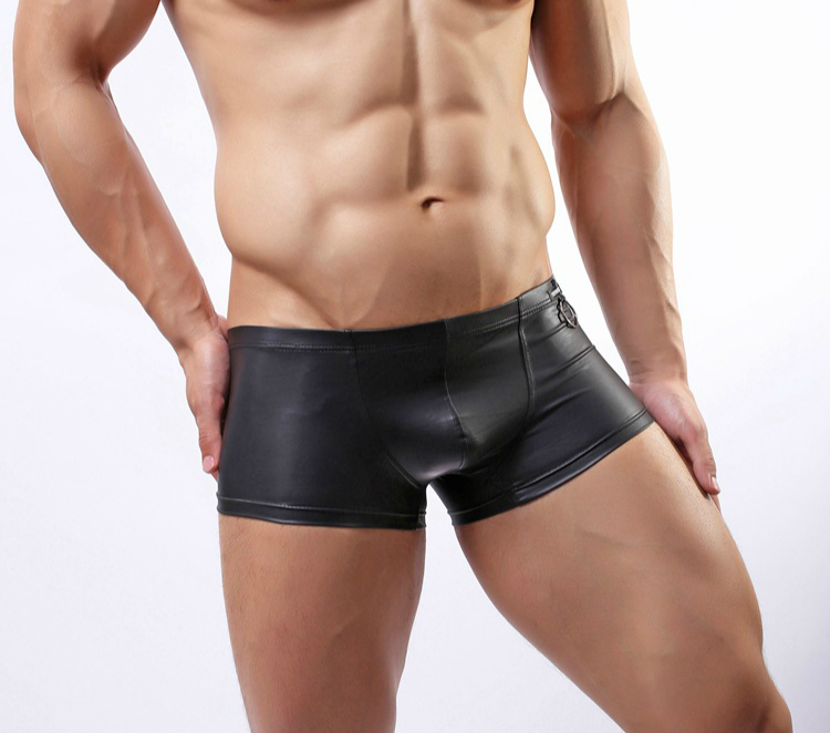 gay tube leather boxer