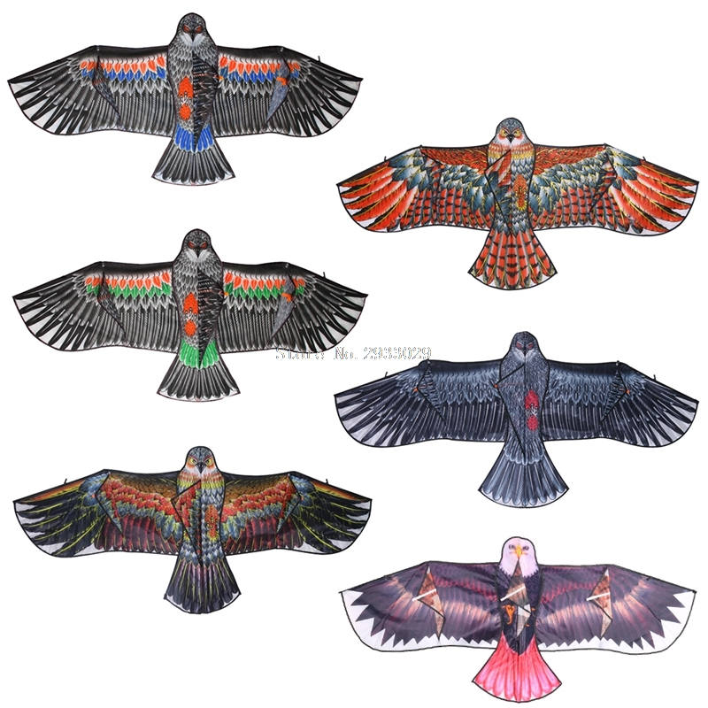1.5m 1.7m Eagle Kite Outdoor Toy Sport Gift For Kids Children Adult Home Decor  -B116