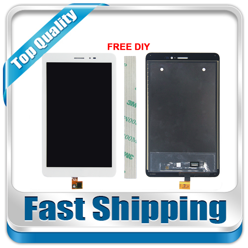 New For Huawei MediaPad T1 8.0 Pro 4G T1-823L T1-821L T1-821W T1-821 Replacement LCD Display Touch Screen Assembly White sir472dp t1 ge3 r472