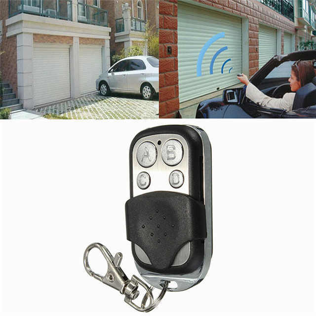 4 Buttons Wireless Remote Control ABCD 433MHZ Electric Gate Garage Door Remote Control Key Fob Controller  sc 1 st  AliExpress.com & 4 Buttons Wireless Remote Control ABCD 433MHZ Electric Gate Garage ...