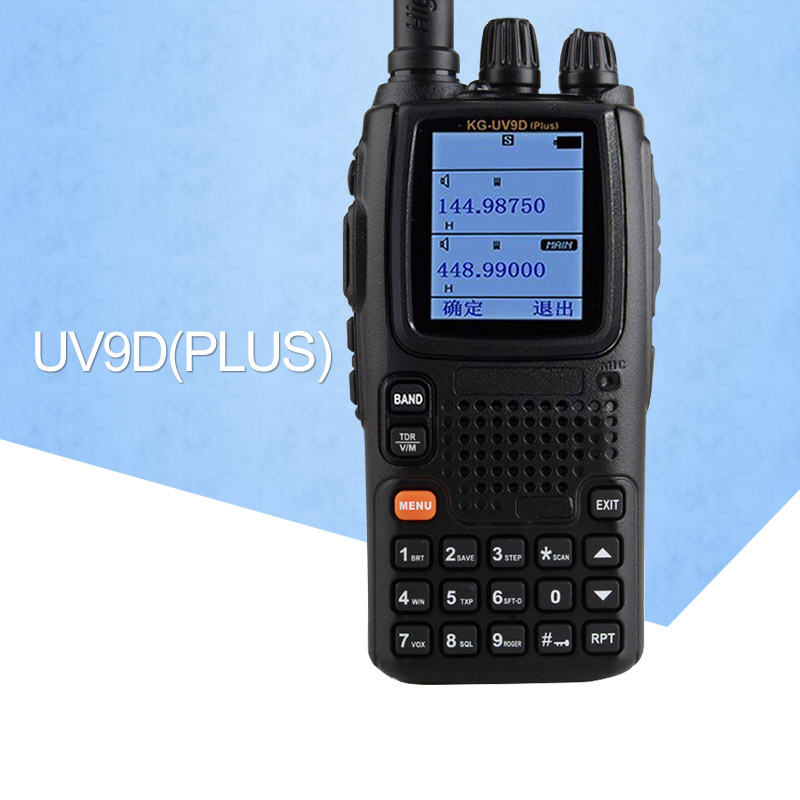 Walkie Talkie KG UV9D VHF136 174MHz UHF400 512MHz Dual Band Radio Duplex Mode TWIN BANDS TX