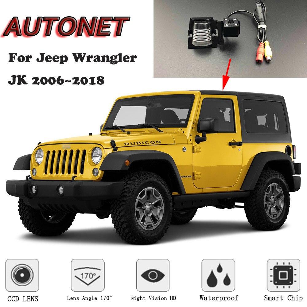 AUTONET Backup Rear View Camera For Jeep Wrangler JK 2006~2018 Night Vision/license Plate Camera/parking Camera