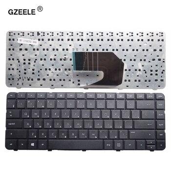 цена на GZEELE NEW Russian keyboard For HP compaq presario Cq43 Cq57 CQ58 Laptop Russian keyboard black RU layout black replace NOTEBOOK