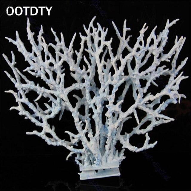Vivid Resin Coral Aquarium Aquatic Fish Tank Decoration Ornament