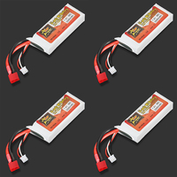1pcs Rechargeable High Quality Lipo Battery ZOP Power 7 4V 2200mAh 35C 2S Lipo Battery TPlug