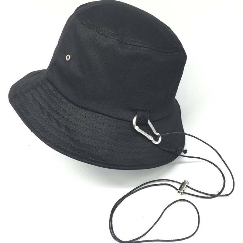 b3fbb4c921089c 2018 New Kpop BTS JIMIN Long strap Fashion Bucket Hat Fisherman hat Hunting  Fishing Outdoor Cap Men's Women's Dome Basin cap-in Bucket Hats from  Apparel ...
