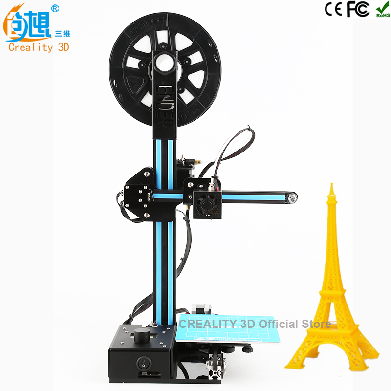 Factory Price CREALITY 3D Cheap Color 3D Printer Metal