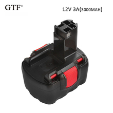 12V 3.0A 3000mah Rechargeable NI-MH Battery Portable Replacement Backup For Bosch GDR GLI Tool battery