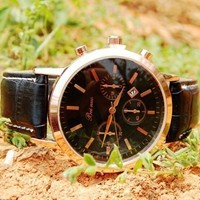 Leather Watch 296