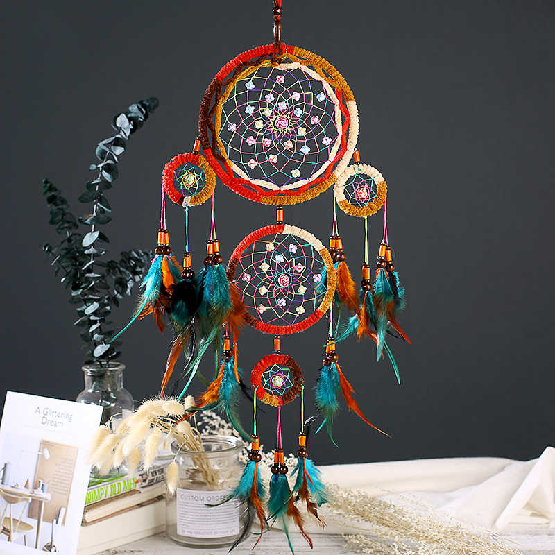 dream catcher nordic decoration home children room nursery decor kids room decoration scandinavian nordic style kids decoration