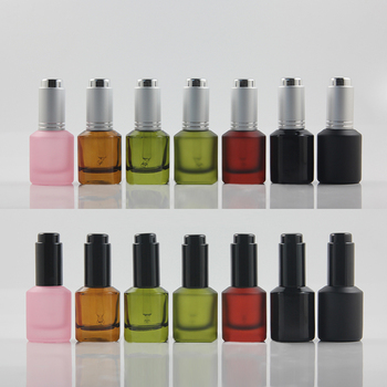 50pcs Essential Oil Bottle with Dropper 30ml Women Makeup Tools Black Lid Portable Travel