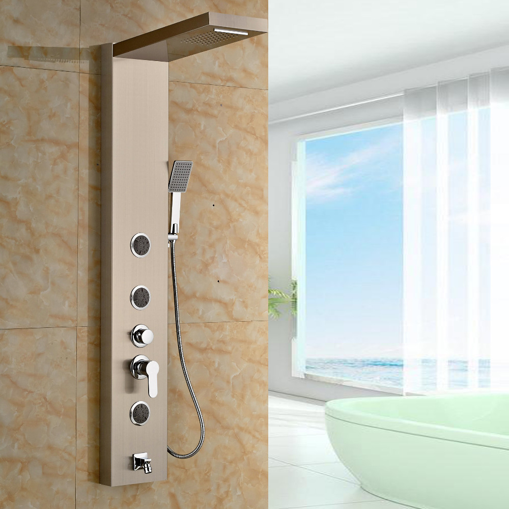 Newly Arrival Wholesale And Retail Wall Mounted Vanity Shower Panel ...