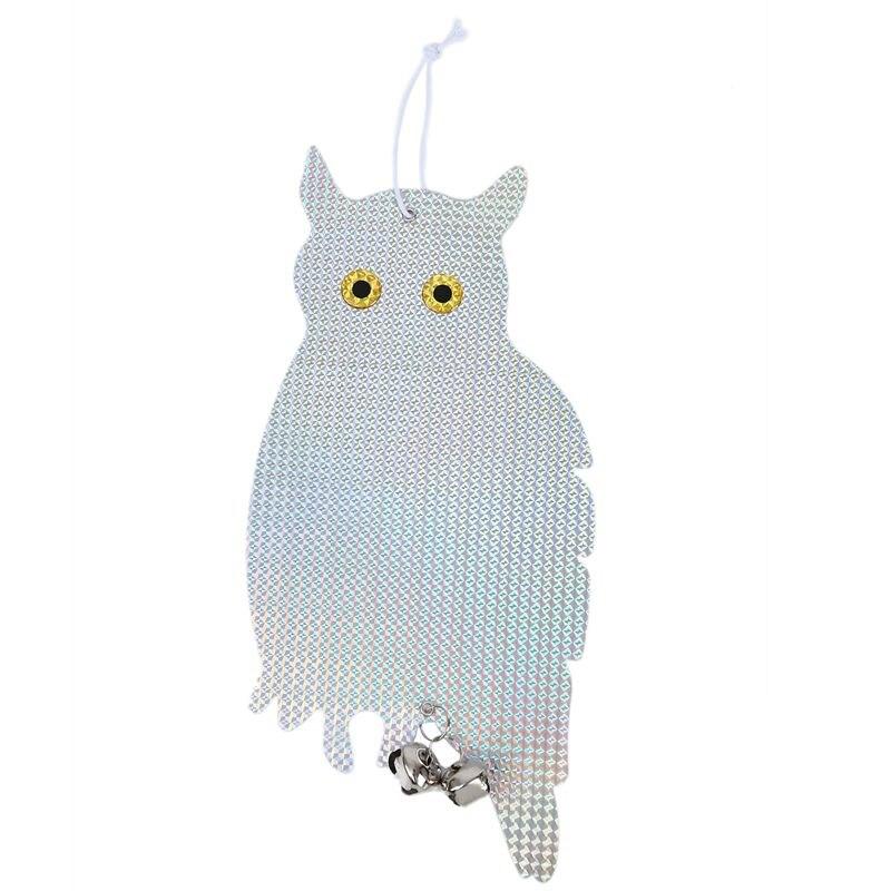 Garden Decoration Bird Repellent Owl Scarecrow Reflector