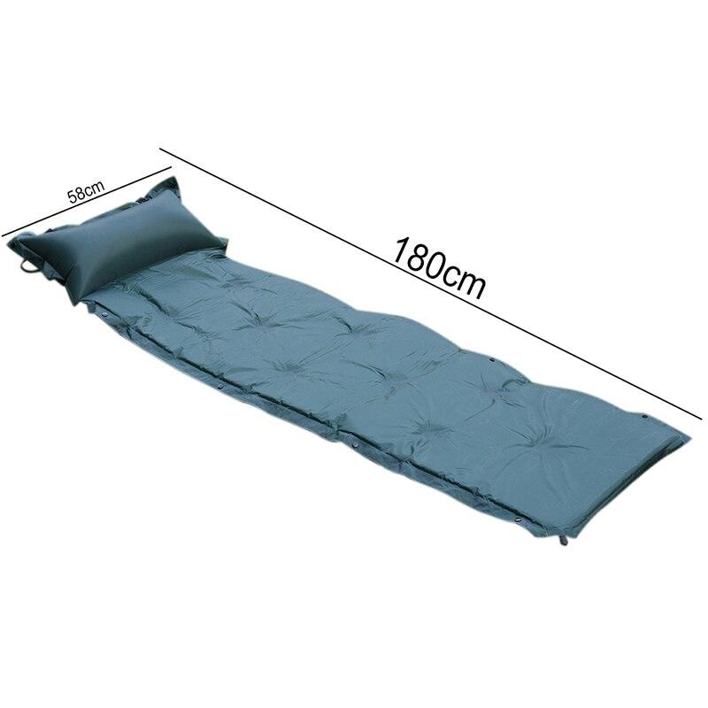 Mise à niveau motif! Automatiquement gonflable coussin pad humidité élargissement épais matelas matelas simple camping pad Salon de Jardin