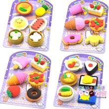Fruit Promotional Fantastic Pencil Rubber School Supplies Eraser Stationery For Kids Kawaii Cute