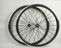 superior quality alloy braking surface 9/10/11 Speed carbon road bike clincher wheels