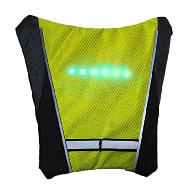 LED Turn Signal Cycling Vest