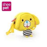 Kawaii Kids Satchel Bag Plush Children Satchel Messenger Bag Plush Backpack Bag Pouch Zippers Sheepet Backpack