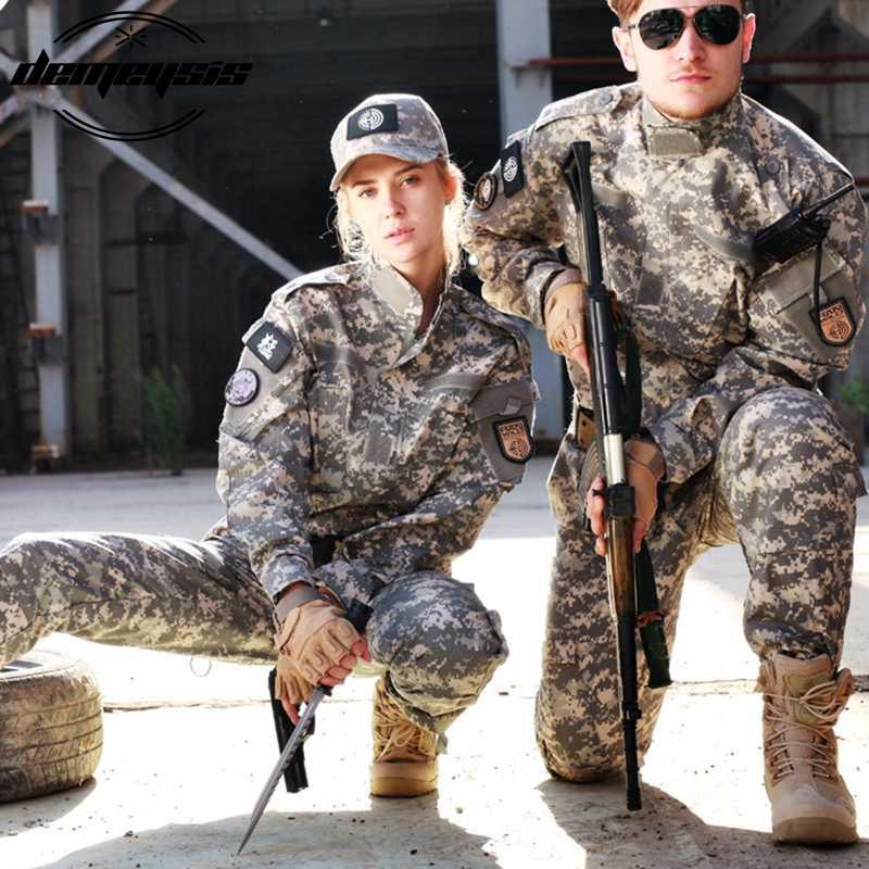 Мандрэг армейские военные тактические рубашка-карго штаны камуфляжное боевое обмундирование США военный камуфляж BDU