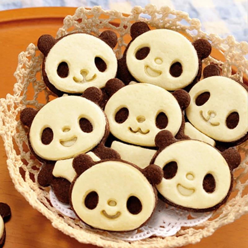 Panda Biscuits Moule Coupe Sandwich Biscuit Pain Gâteaux Moule ...