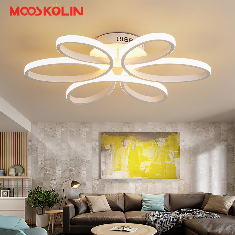 Foyer Modern Led Ceiling Light Surface Mount LED Ceiling Lamp For Living Room Bedroom Dining room LED Lustres Lighting Fixtures new surface mounted led ceiling lights wood modern light fixtures for living room dining room bedroom led ceiling lamp 220v