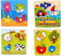 2016 New Cartoon/Animal/Construction/Fruit/traffic/car Jigsaw Puzzle Board 3D wooden puzzle toy panels Learning Toys