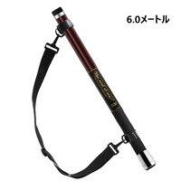 SANLIKE 5m/6m Portable Telescopic Extension Carbon Fiber fishing Landing Net Handle Rod Pole Stretch Brail retractable Gear tool