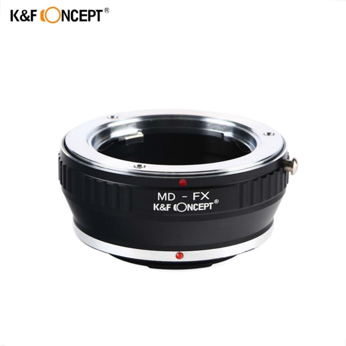 K & F CONCEPT MD-FX lente anillo adaptador para Minolta MD lente de montaje a Fujifilm Fuji X-Pro1 X Pro 1 cámara