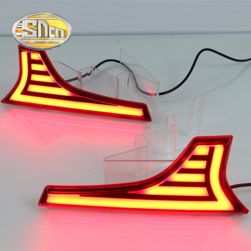 цена на For Suzuki Ertiga 2016 2017 2018 SNCN Multi-functions Car LED Tail Light Rear Fog Lamp Auto Bulb Reflector Decoration Light