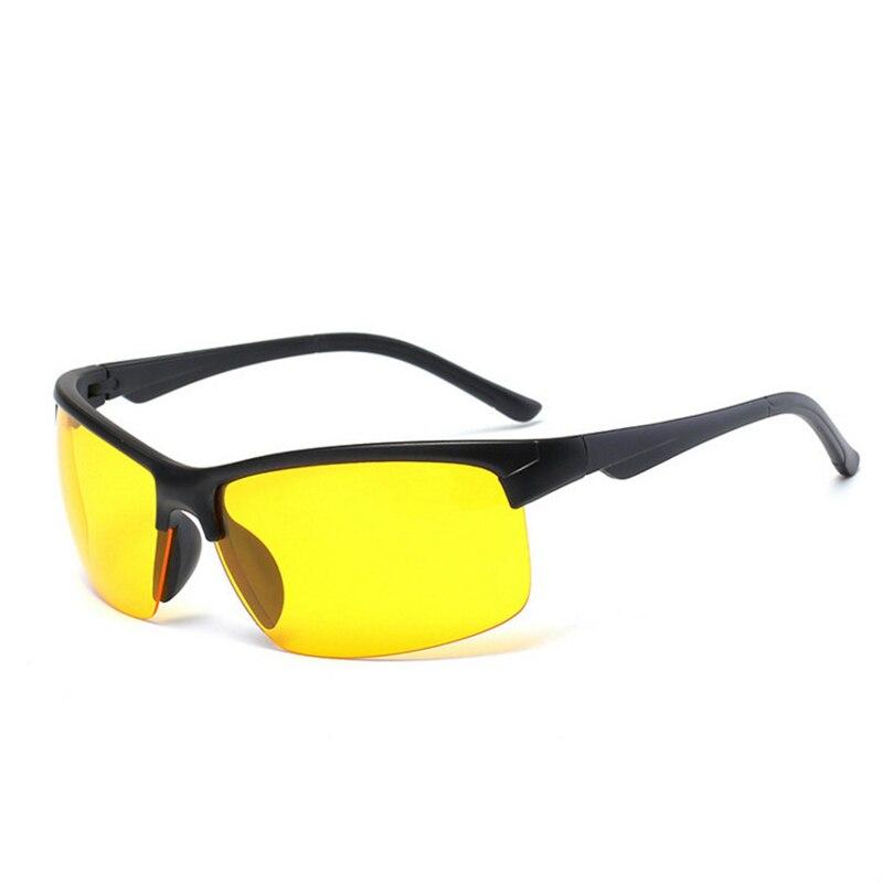 Night Vision Glasses Fishing Cycling Traveling Climbing Outdoor Sunglasses Yellow Lens Protection Unisex Fishing Eyewear