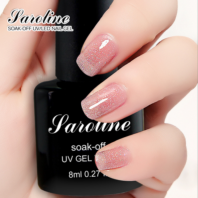 Saroline Lucky Colors Gel Nail Polish Winter Nail Color UV Gel Nail ...