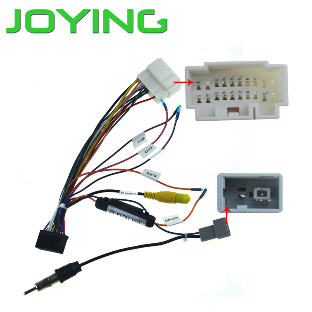Harness Wiring Cable for Honda Jazz Accord only for Joying android device joying wiring harness cable 40 pin 5m extension cable for bmw dash dvd gps car radio stereo head unit