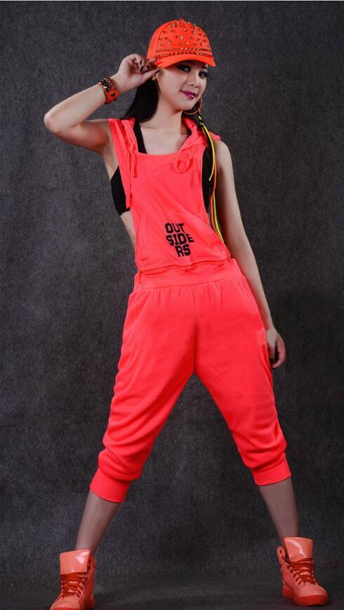 Hip-hop ples kostim izvedba nositi žene romper europska kompleti - Ženska odjeća - Foto 3