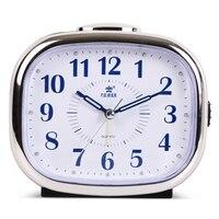 Night Light Digital Alarm Clock Quartz Snooze Movement Alarm Clock Modern Timer Silent Desktop Table Clock