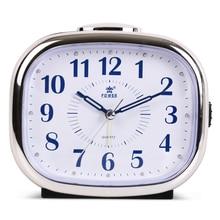 Night Light Digital Alarm Clock Quartz Snooze Movement Alarm Clock Modern Timer Silent Desktop Table Clock Bell Ring 10Colors