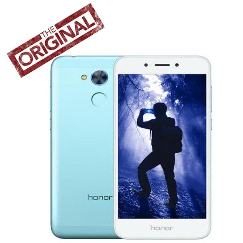Оригинальный Новый huawei Honor 6A играть LTE телефон 3G RAM 32G ROM Android 7,0 Восьмиядерный Snapdragon 430 5-дюймовый сканер отпечатка пальца ID 13.0MP