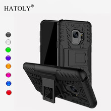 For Samsung S9 Back Case Bumper S9 Back Cover For Samsung Galaxy S9 Etui TPU & Plastic Armor Case For Samsung Galaxy S9 Fundas стоимость