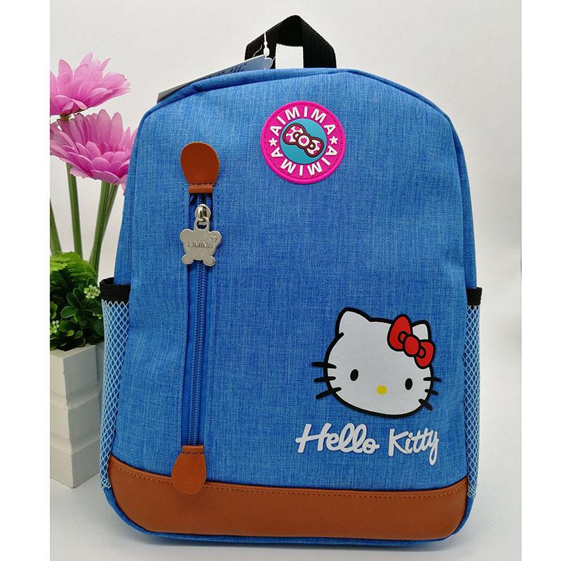 Hello Kitty Child School Bag Cartoon Backpack Kid Kindergarten ... 79066904e1bdb