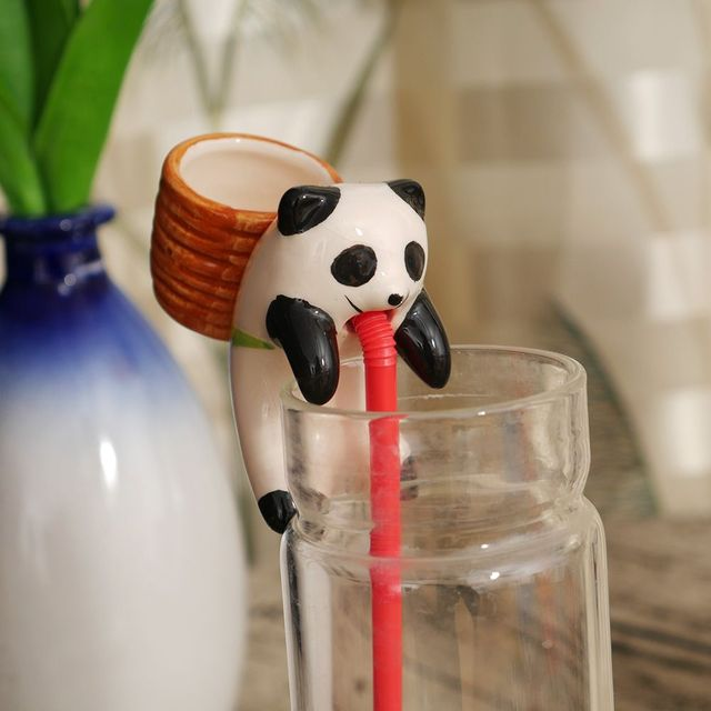 Self Watering Animal Planter Water Absorption Cute Pot Plant Bonsai Home Decor