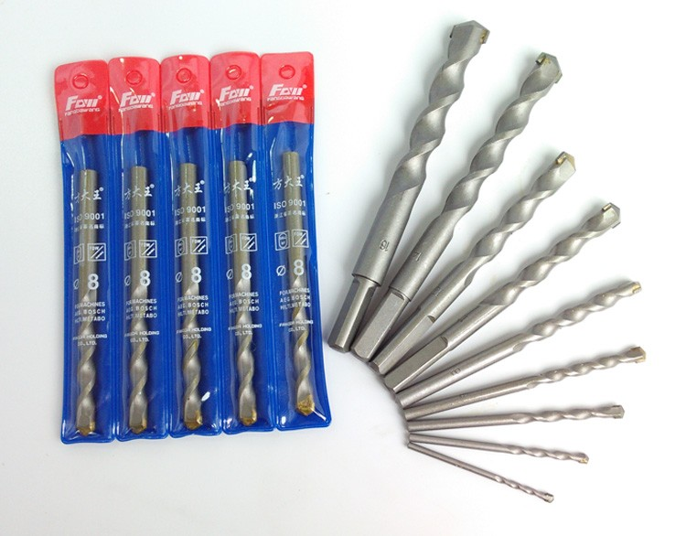 2pcs 3mm-12mm High Quality Tungsten Steel Drill Impact Drill Cement Concrete Wall Drill Construction Drill