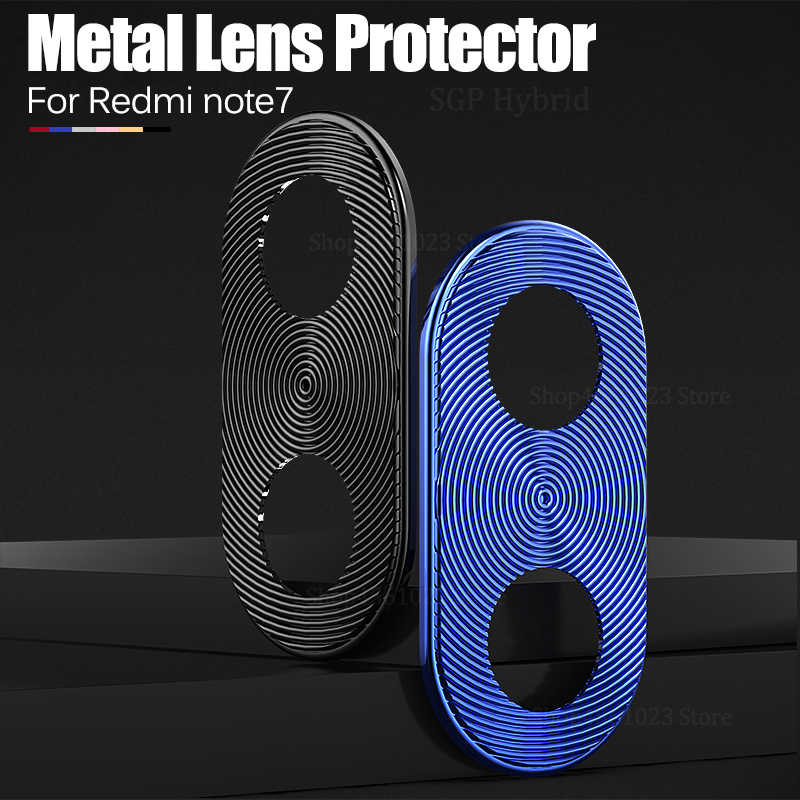 Camera Lens Protective Ring Case For Xiaomi Redmi note7 Note 7 8 Pro 7Pro 9 se t 9t K20 Metal Real Mobile Full Cover Safety Case