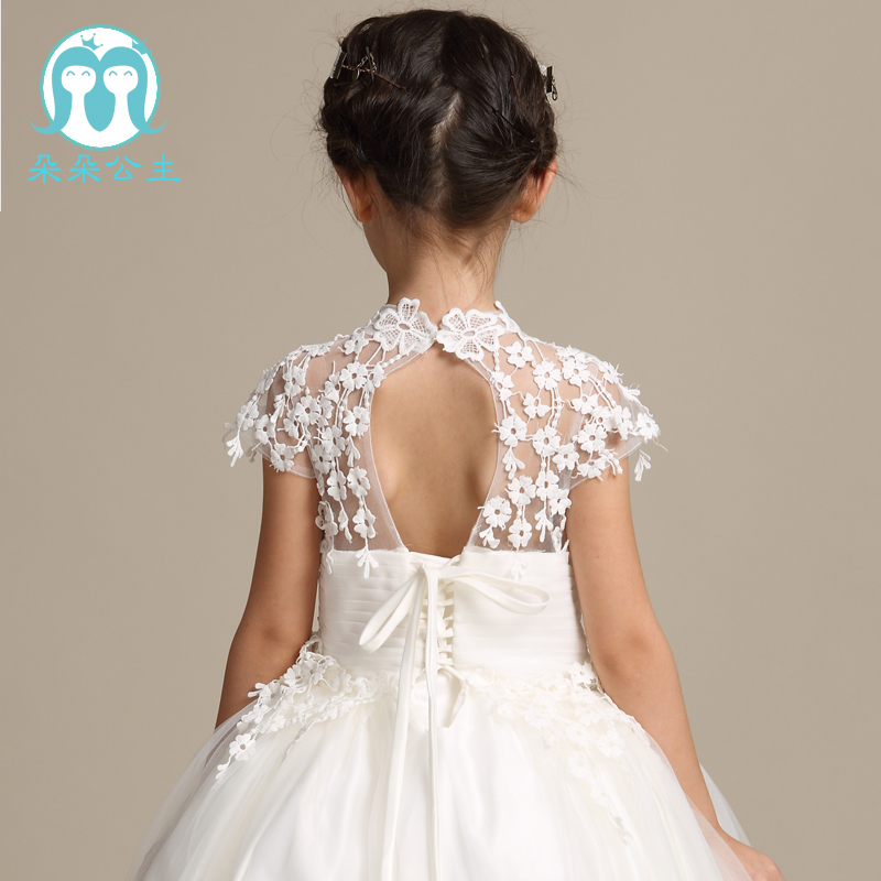 e1bcad234f7 Very latest new model short sleeve girl first dress lace alibaba online  flower girl dresses with 100 160cm-in Dresses from Mother   Kids on  Aliexpress.com ...